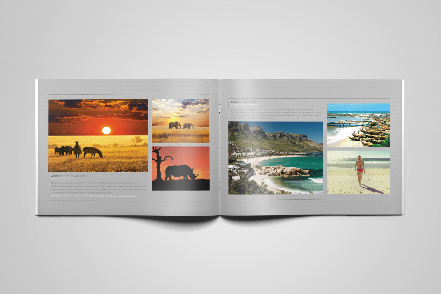 Brochure - Layout with images