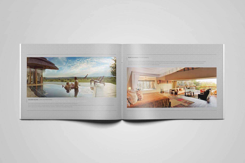 Brochure - Large image layout
