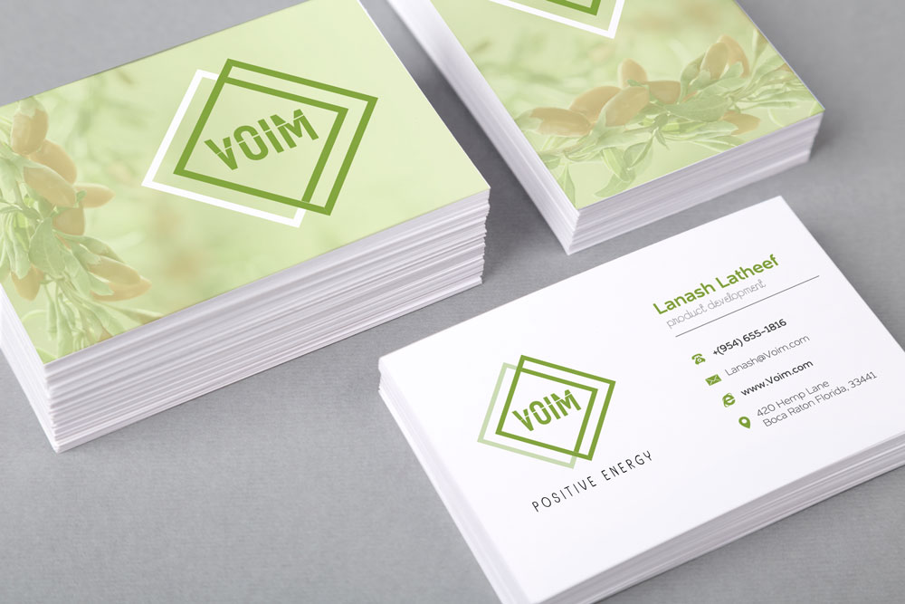 VOIM - Business Card Design