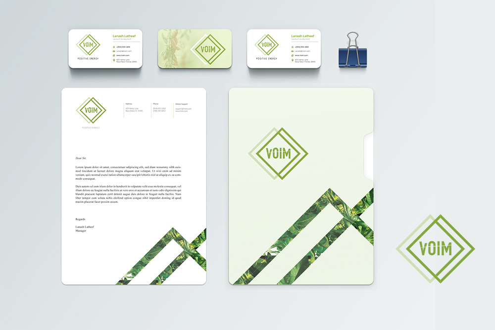 VOIM - Stationery Design